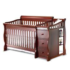 Cribs And Changing Tables Baby Bed With Changing Table Ikea Cribs Cots Tables Crib Attached