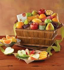 fruit baskets deluxe organic fruit gift basket organic gift baskets delivered