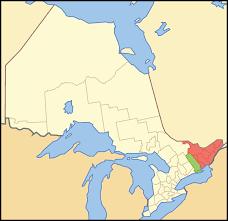 Map Of Northeast Us Eastern Ontario Wikipedia