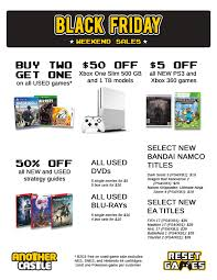 black friday xbox 1 sales black friday sales another castle video games