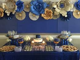 royal blue and gold baby shower decorations royal blue and gold decorations 3 the minimalist nyc