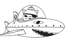 Print Download Octonauts Coloring Pages For Your Kid S Activity Octonauts Coloring Pages