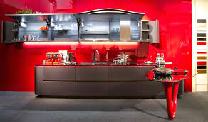 furniture remarkable snaidero kitchens with red backsplash ideas