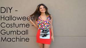 diy halloween costume gumball machine youtube