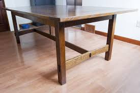 arts and crafts table for arts and crafts dining table rickety furniture