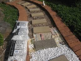 Garden Path Edging Ideas Garden Path Ideas Design By Dimension Gardenscape Sweet Cheap