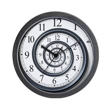 Futuristic Clock by Spiral Wall Clock For Your Special Room