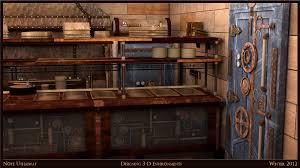 Steam Punk Interior Design Steampunk Kitchen Steampunk Interior Design Pinterest Norma Budden