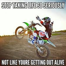 Funny Motocross Memes - in the words of the joker why so serious off road love