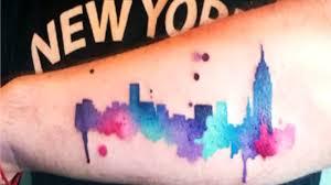 city skyline tattoo ideas youtube