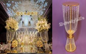 Tall Table Centerpieces by Compare Prices On Tall Gold Vases Wedding Centerpieces Online