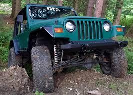 jeep lj interior barricade wrangler flat style fender flare kit j102429 97 06