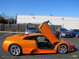 Lamborghini Murcielago 2008 - arancio atlas pearl orange 2008 lamborghini murcielago lp640