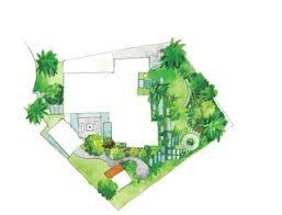 Eichler Floor Plan Creative Landscape Design For A Renovated Eichler In California