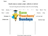 collective nouns worksheet teaching resources teachers pay teachers