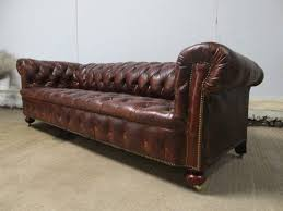 Leather Settees Uk Leather Chesterfield Sofa Comfortable Loccie Better Homes