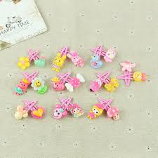 20 pcs mix styles assorted baby kids bb hairpin hair clips girls
