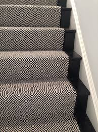 look at this beautiful custom stair runner u201cblack diamond u201c by
