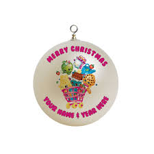 shopkins christmas ornament custom gift 1