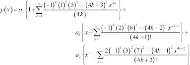 differential equations series solutions
