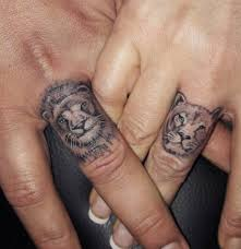 lion finger tattoos 64 bold different unusual finger summer tattoo ideas
