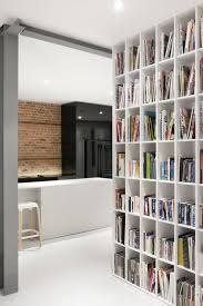 modern home interior designs interior modern grey fauteuil chair in handsome home library