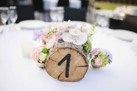 wedding table number ideas wedding ideas