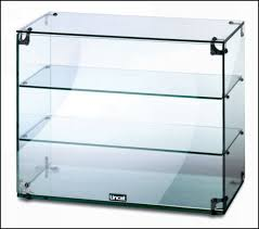 Glass Cabinet With Lock Funiture Magnificent Wood Glass Display Case Home Display Cases