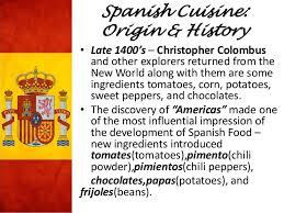 cuisine origin cuisine
