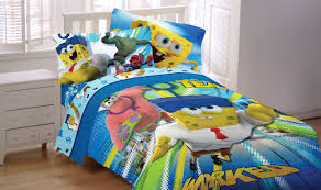 Spongebob Toddler Comforter Set by Spongebob Movie U0027mr Awesome U0027 Bedding Sheet Set Walmart Com
