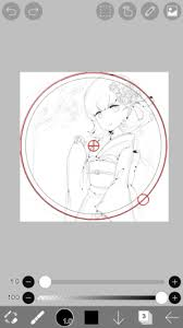45 ruler circular ruler how to use ibispaint