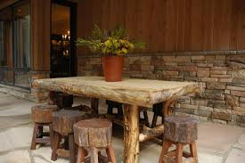 Rustic Outdoor Dining Furniture Photo Page Hgtv