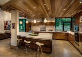 modern house kitchen modern mountain home in truckee