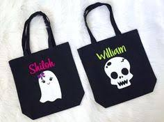 personalized trick or treat bags trick or treat bag bag by cleanlywheatgraphics on etsy