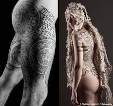 lars krutak kai uwe faust u2013 neo nordic tattoo revival lars krutak