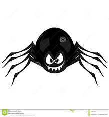 funny freaky spider stock vector image 43991045