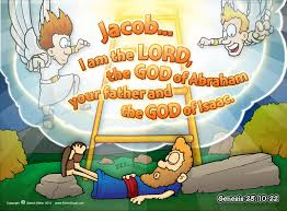 christian cartoon bible story illustrations jacob u0027s ladder