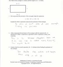 Rational Expression Worksheet Rectangle Expressions Students Are Given Equivalent Expressions