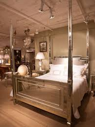 Mirrored Canopy Bed Mirrored Four Poster Bed Home Decor Pinterest