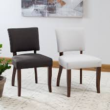 Upholstered Dining Room Chair Lofty Upholstered Dining Chairs Comfortable Upholstered Dining