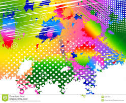 Color And Paint Splash Color Indicates Paint Colors And Painting Stock