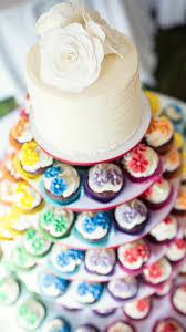 fleur de lis wedding cake rainbow wedding cakes mon cheri bridals