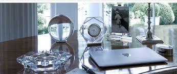 accessoire bureau luxe accessoires de bureau de luxe cristal de baccarat glassic