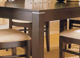 espresso casual dining room set 628