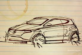 volkswagen polo thumbnail sketch by ecco666 on deviantart