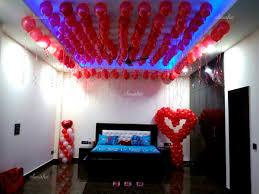 Balloon Decoration At Home Cupid Decor Romantic Balloon Decoration At Home In Delhi Ncr