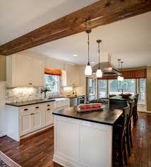 wainscoting kitchen island moen arbor kitchen traditional with 48 wolf range beadboard