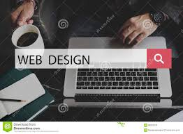 web design homepage digital notebook connection concept stock