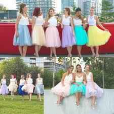 tulle skirt bridesmaid tutu tulle skirts 2016 dresses tea length bridesmaid