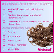How To Encourage Hair Growth Top Shampoo Ingredients That Promote Hair Growth Viviscal Hair